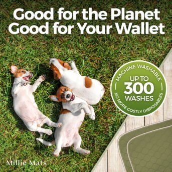 Millie Mats Puppy Pads are good for the planet