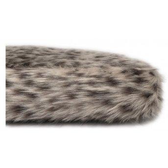 leopard faux fur bed