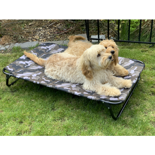 Millie Mats washable dog raised bed